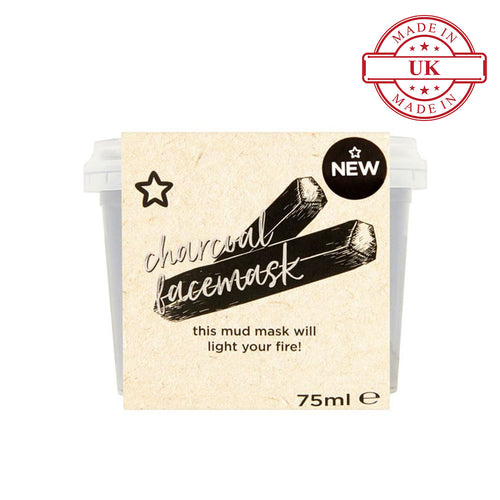 Superdrug Charcoal Face Mask 75ml