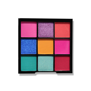 Nicka K Nine Color Eyeshadow Palette - Birthday Cake