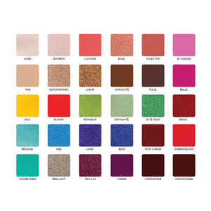 Rude Cosmetics C'est Fantastique - 30 Eye Shadow Palette