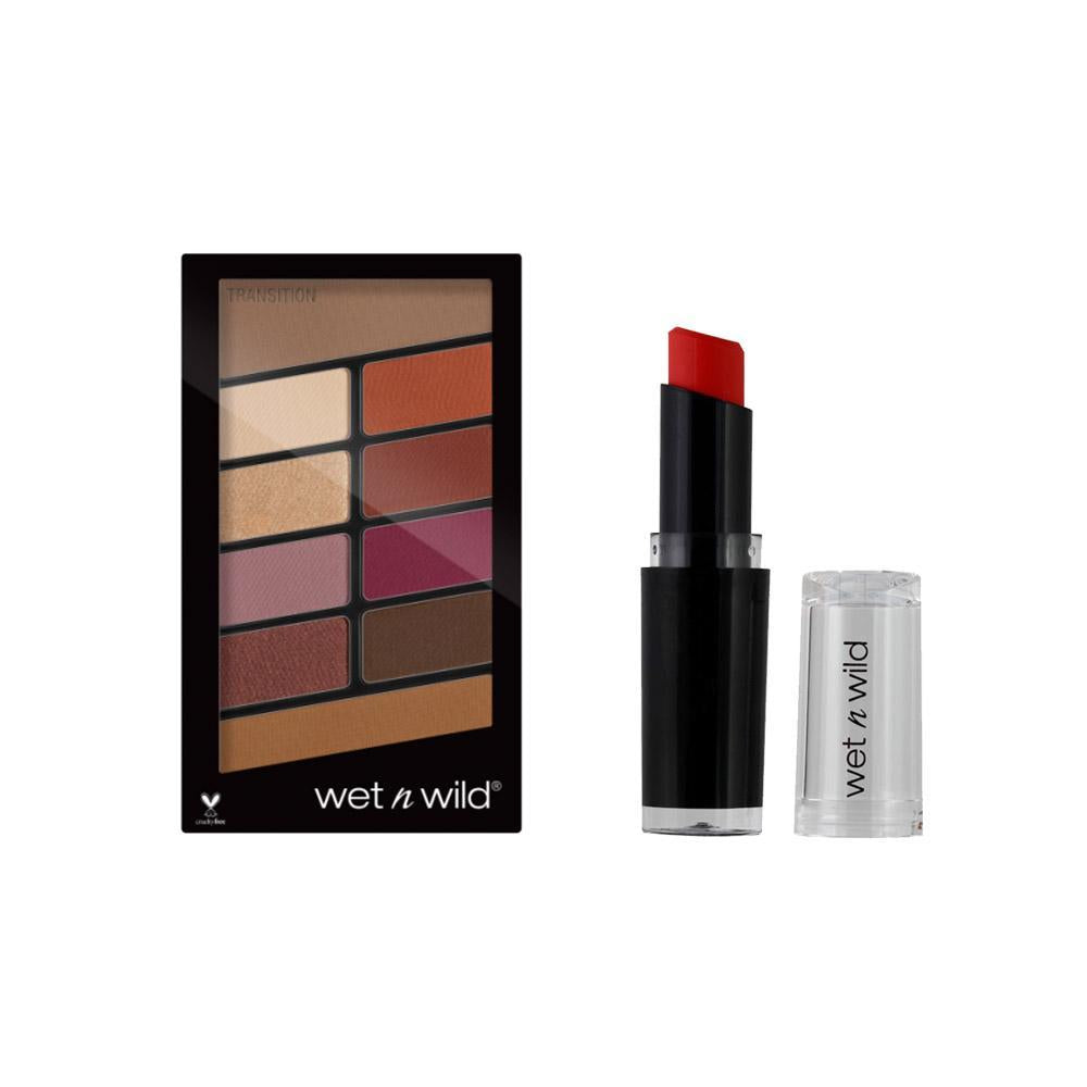 Wet N Wild Rose In The Air and Megalast Lip Color Combo