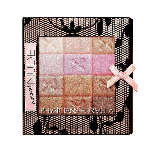Physicians Formula Shimmer Strips All-In-1 Custom Nude Palette For Face & Eyes- Natural Nude