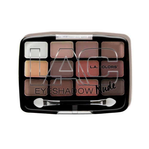 L.A. Colors 12 Color Eyeshadow Palette - Traditional