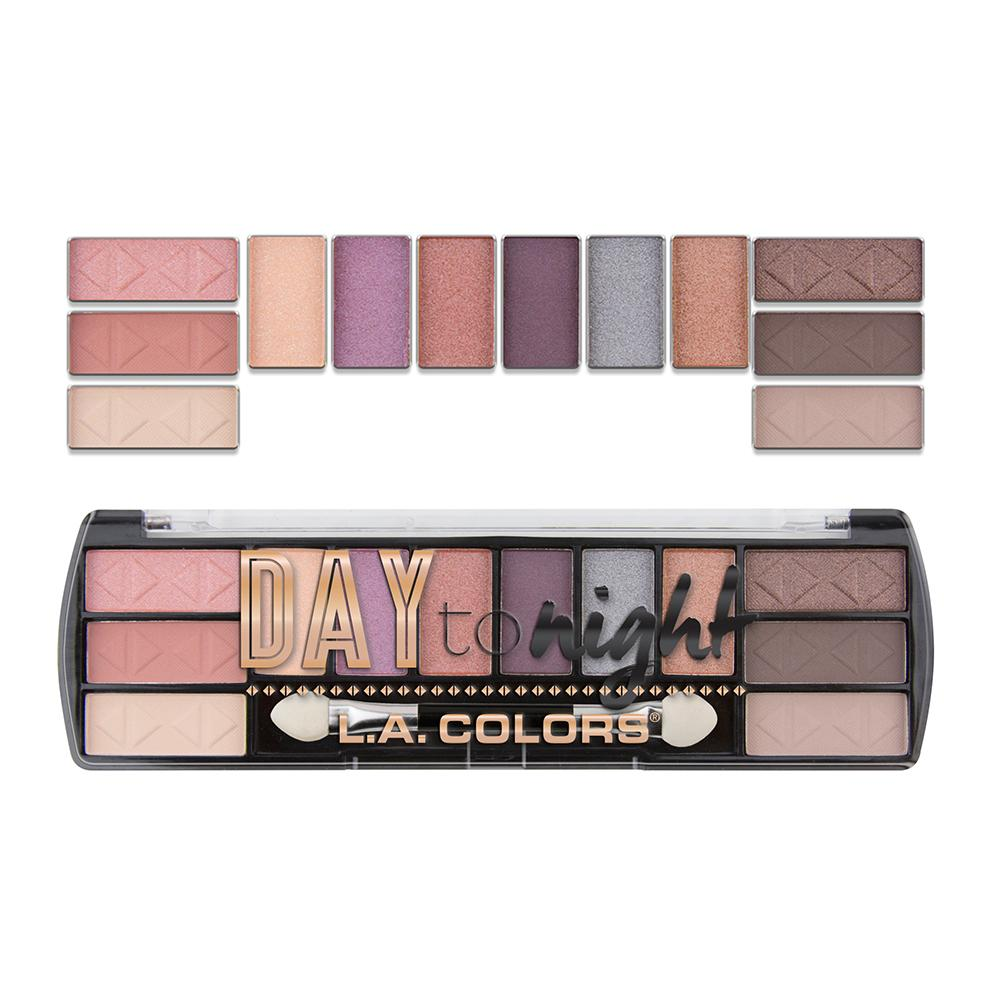 L.A. Colors Day to Night 12 Color Eyeshadow - Dawn