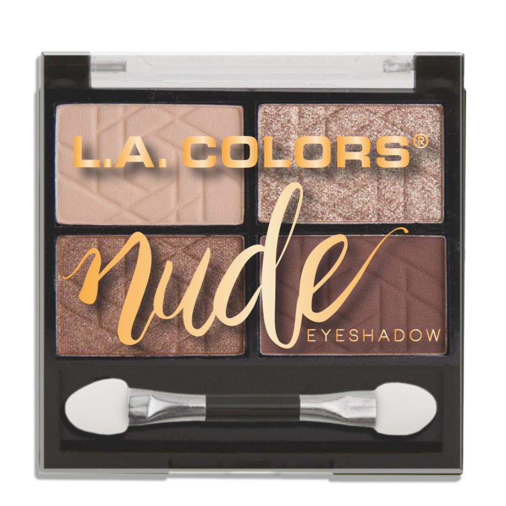 L.A. Colors Nude Eyeshadow Palette - Bare It All