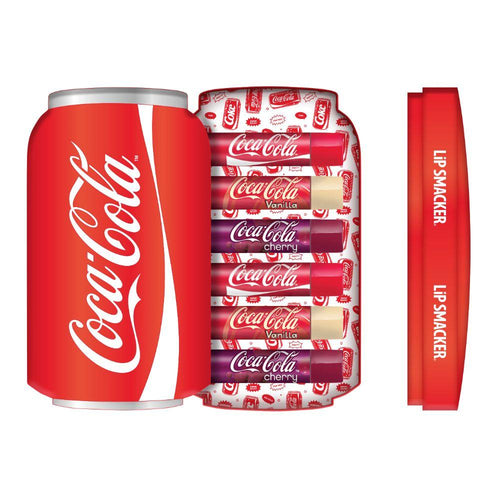 Lip Smacker Coca Cola Lip Balm Tin Box 6pcs