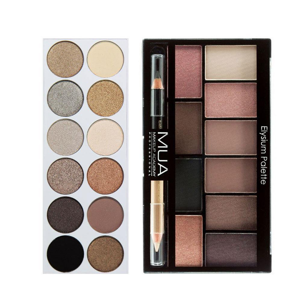 Mua Elysium Eyeshadow Palette + MUA Undress Me Too Eyeshadow Palette