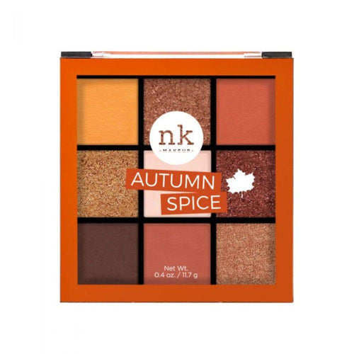 Nicka K Nine Color Eyeshadow Palette - Autumn Spice