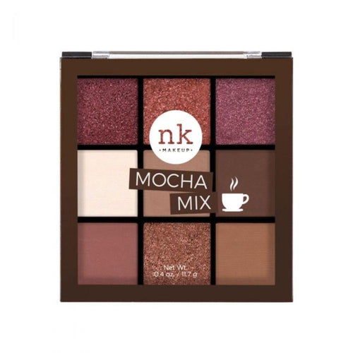Nicka K Nine Color Eyeshadow Palette - Mocha Mix