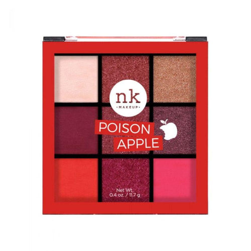 Nicka K Nine Color Eyeshadow Palette - Poison Apple
