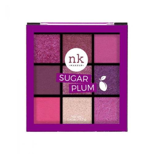 Nicka K Nine Color Eyeshadow Palette - Sugar Plum