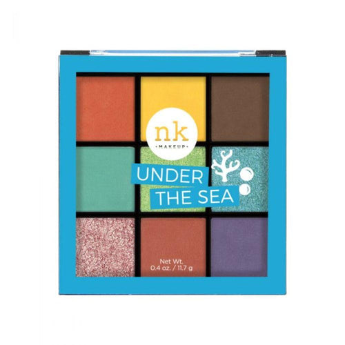Nicka K Nine Color Eyeshadow Palette - Under The Sea
