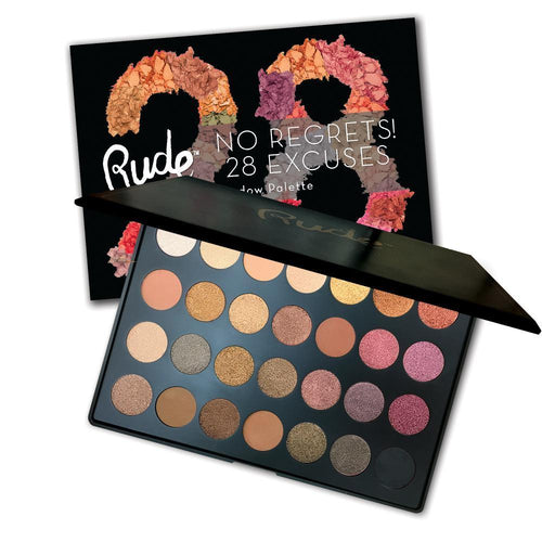 Rude Cosmetics Scorpio - No Regrets! 28 Excuses Eyeshadow Palette