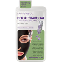 Load image into Gallery viewer, Skin Republic Superfood Detox + Charcoal Face Mask