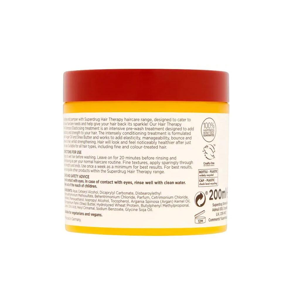 Superdrug Argan Hair Therapy Pre Shampoo Hair Treatment