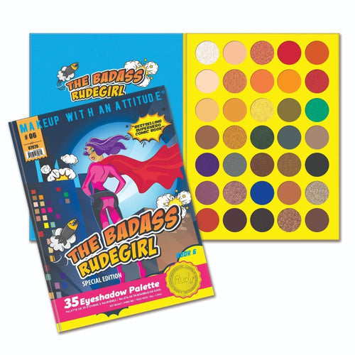 Rude Cosmetics The Badass Rudegirl - 35 Eyeshadow Palette