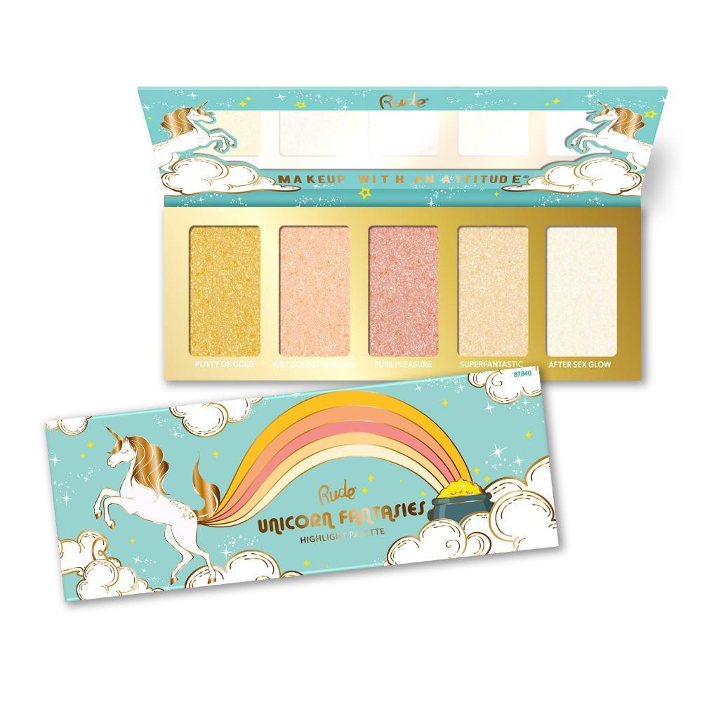 Rude Cosmetics Unicorn Fantasies - Highlight Palette