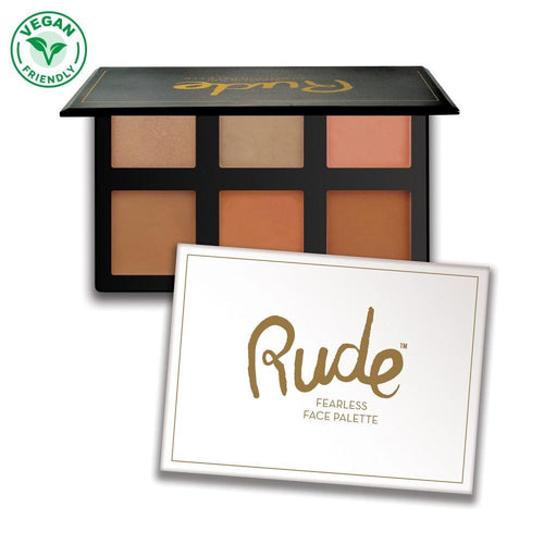 Rude Cosmetics Fearless Face Highlight Palette