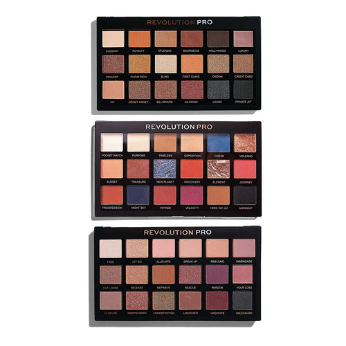 Revolution Pro Regeneration Eyeshadow Palette Set of 3