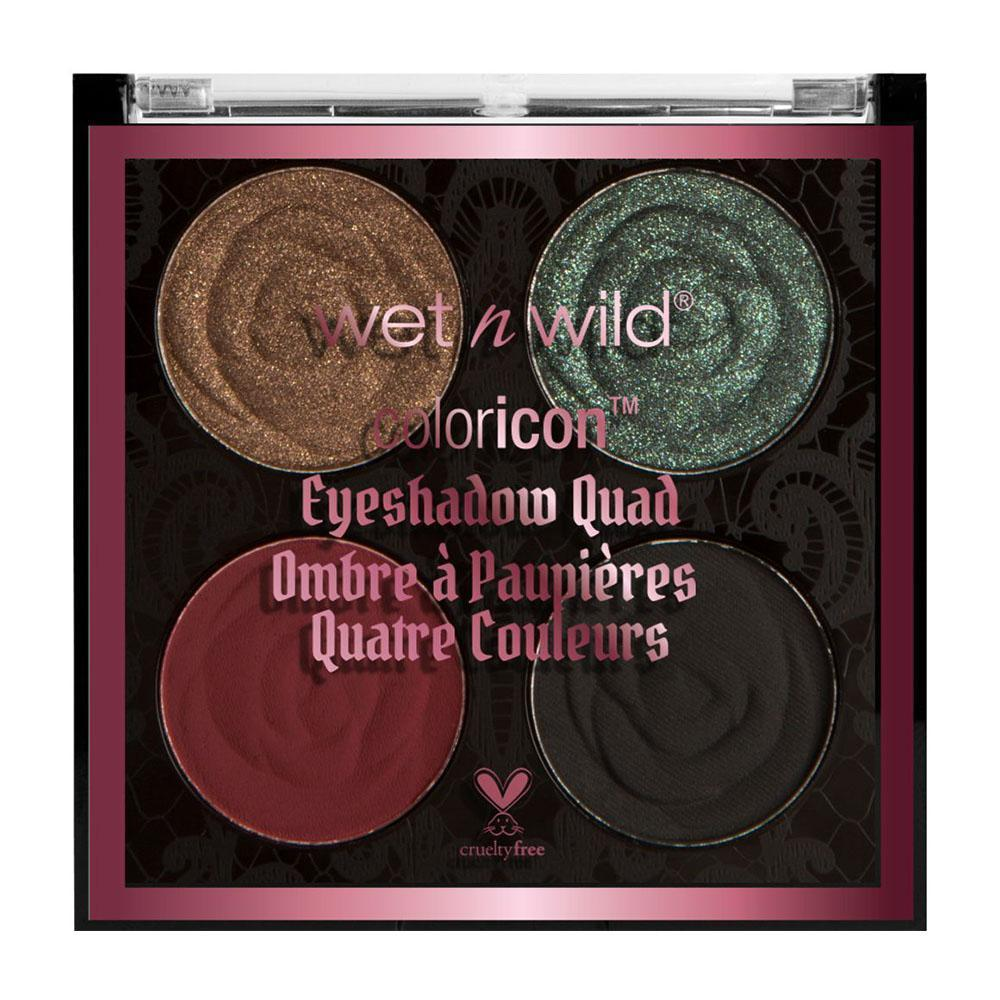 Wet N Wild Rebel Rose Color Icon Eyeshadow Quad- House of thorns