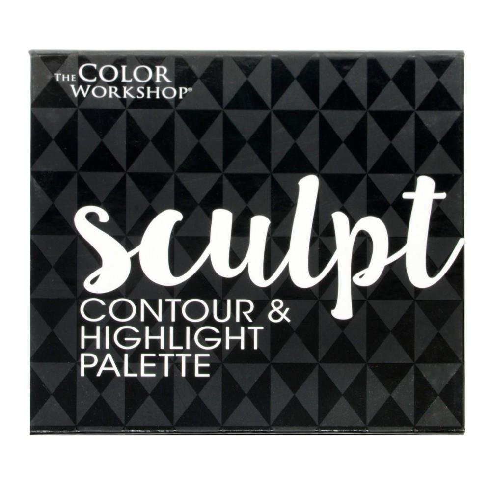 The Color Workshop Essential Compacts  - Sculpt , Contour & Highlight Palette