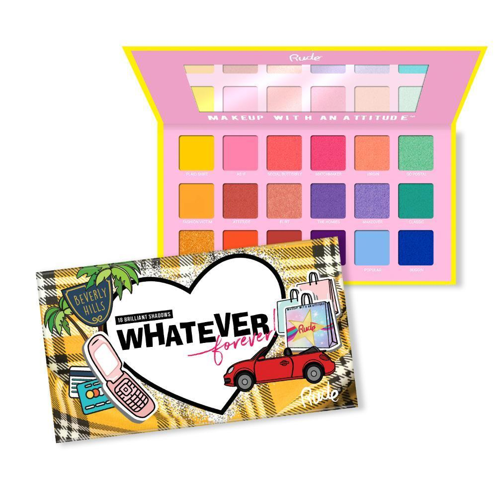 Rude Cosmetics Whatever Forever - 18 Eye Shadow Palette