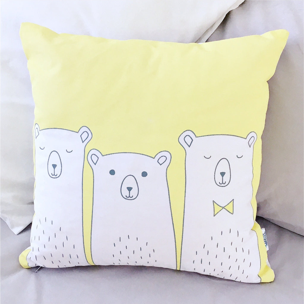 3 Little bears scatter - Yellow