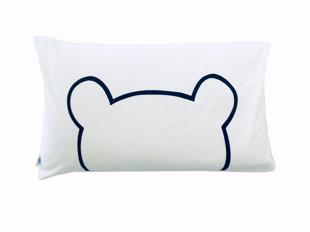 Bear Pillowcase - Black