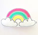Bright Rainbow Cloud Plushie