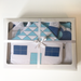 Cot Duvet & Bumper Set - Blue Water Bear