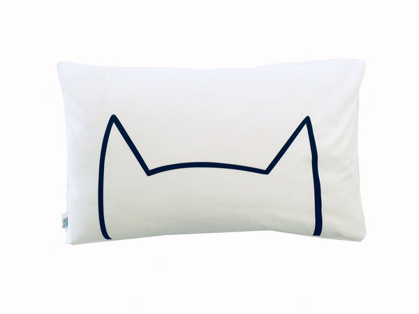 Meow Pillowcase - Black