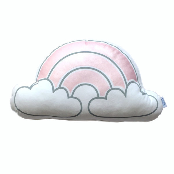 Rainbow cloud - Metallic Pink
