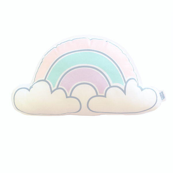 Pastel Rainbow Cloud Plushie