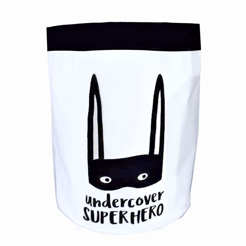 Undercover superhero storage bag