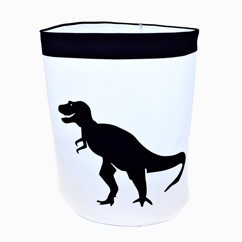 Dinosaur Storage Bag - Black