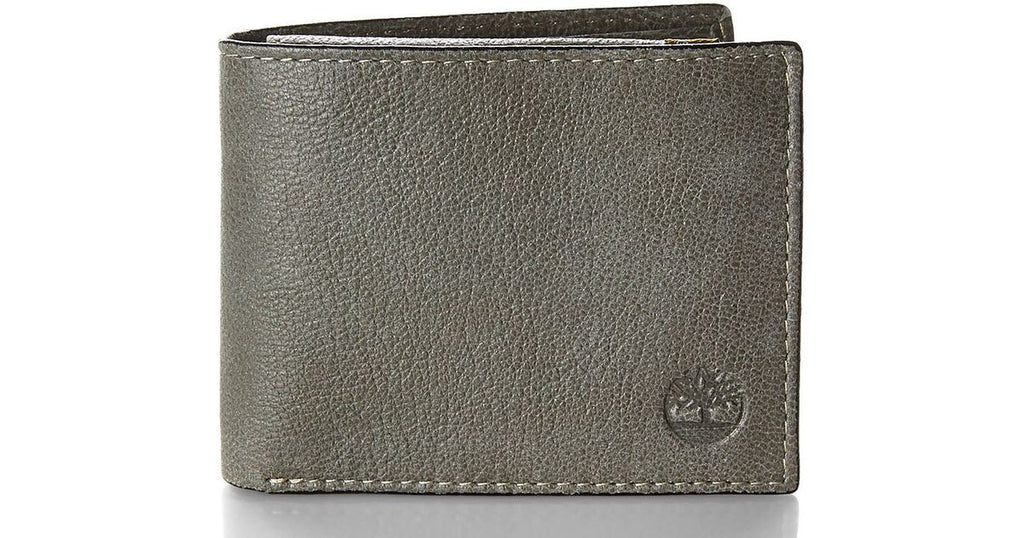 Timberland Green Leather Passcase Wallet