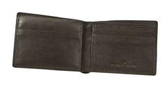 Joseph Abboud Brown Glove Leather Glove Leather Passcase Wallet