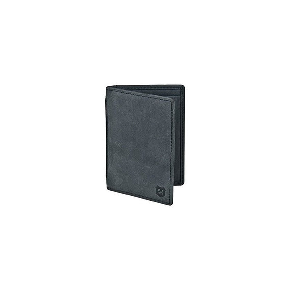 Andrew Marc Charcoal Passcase Billfold Wallet