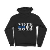 Made In the USA VoteDemOut2018 Hoodie sweater- BK