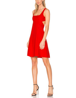 T by Alexander Wang dress red Alexander Wang