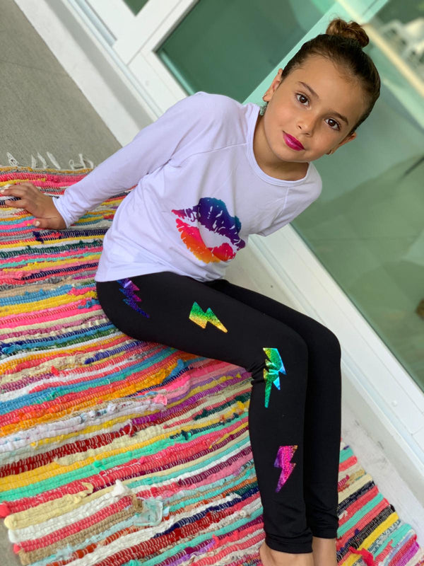 Kiss Big Multicolor Long Sleeve Tank