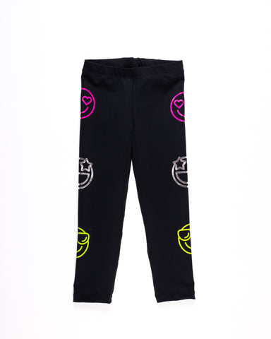 Emoji Legging- Black