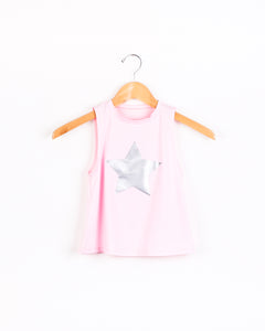 Big Star Tank - PinkSilver