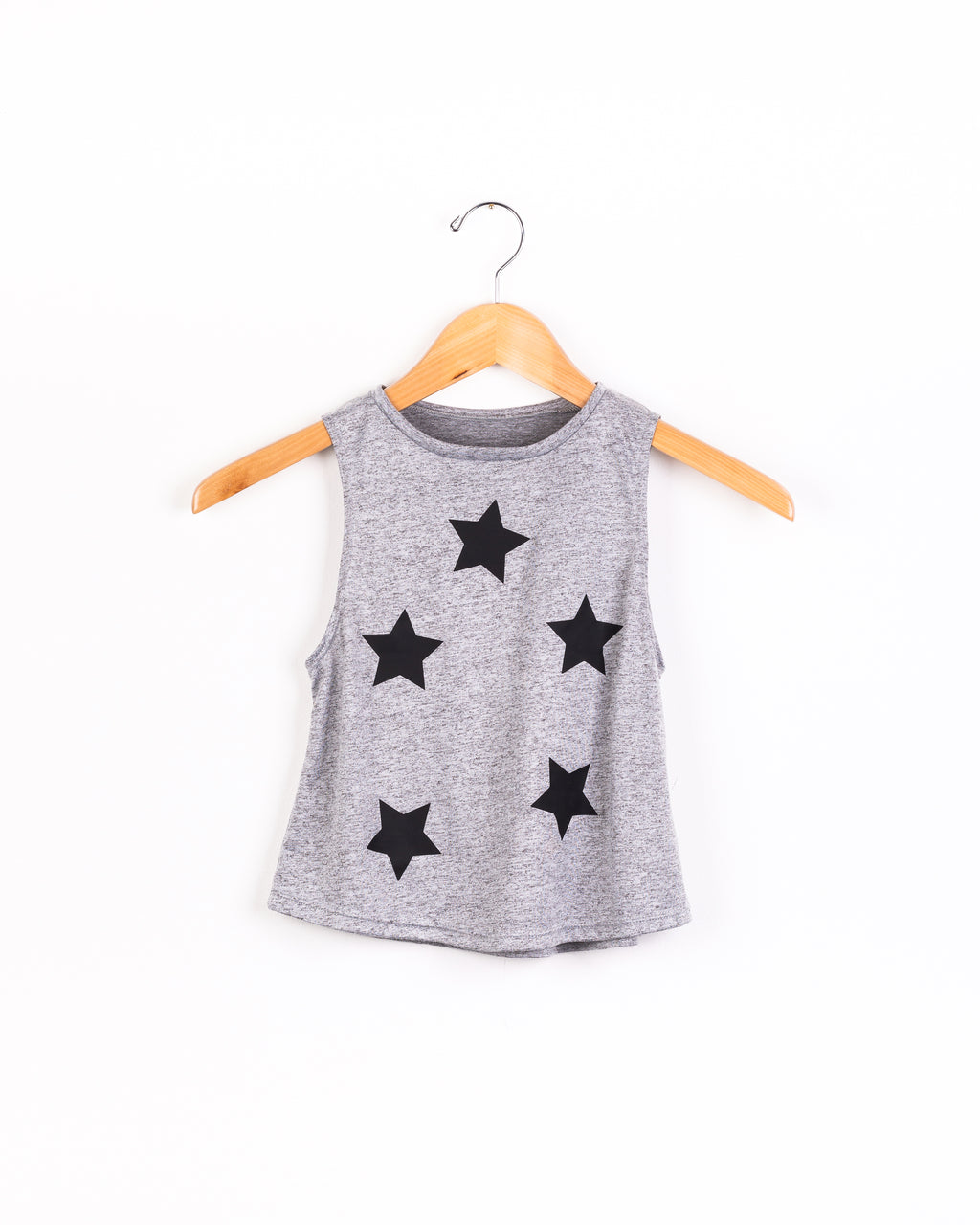 Stars Black Gray Tank-Tanks-Fanilu