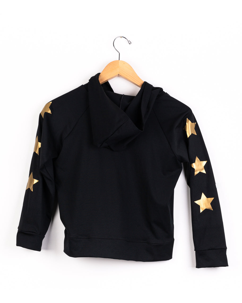 Stars Gold Black Jacket - Fanilu
