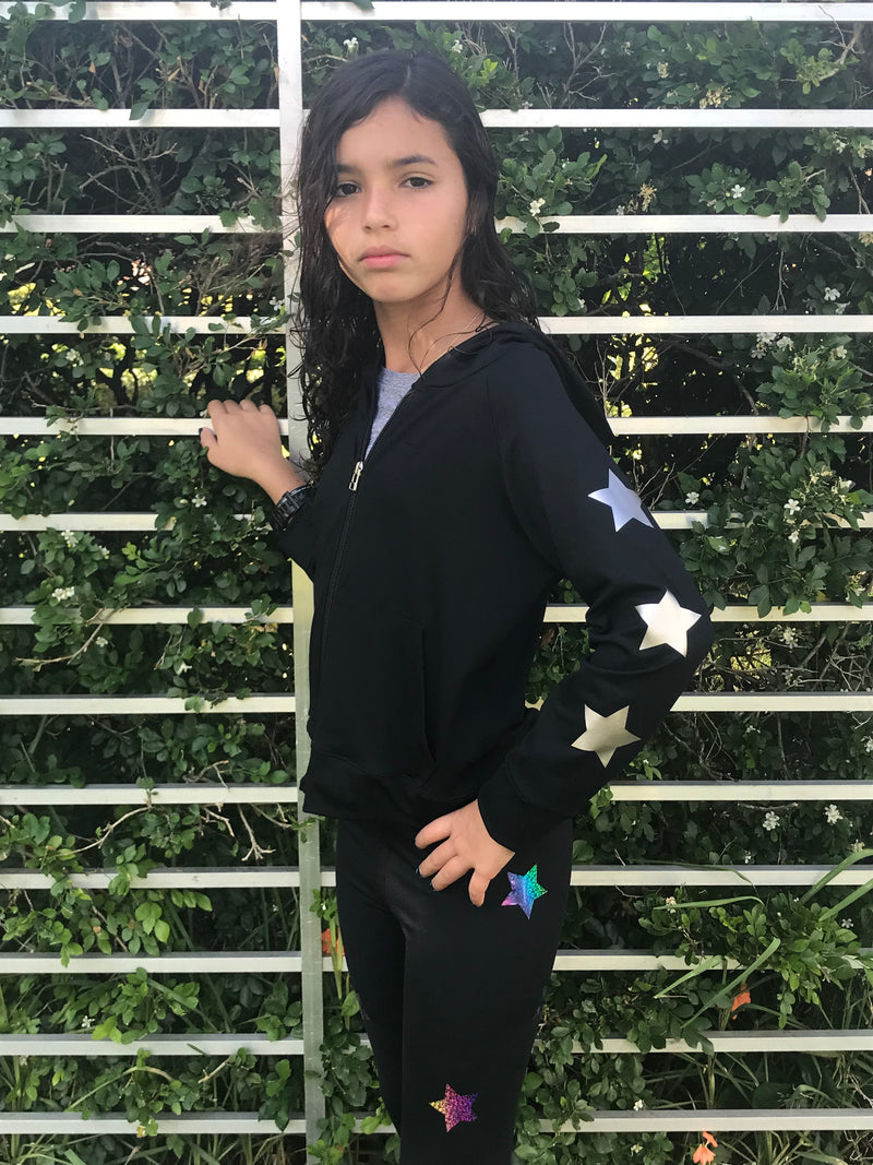 Stars Gold Black Jacket