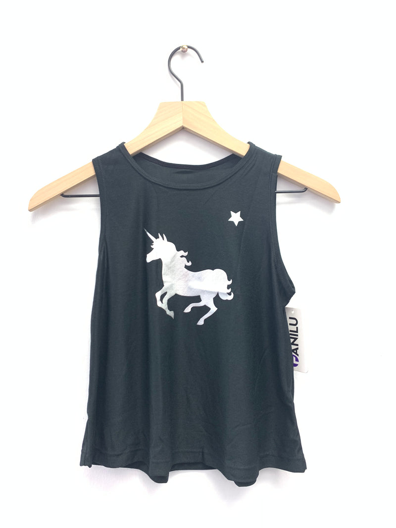 Unicorn Silver Black Tank