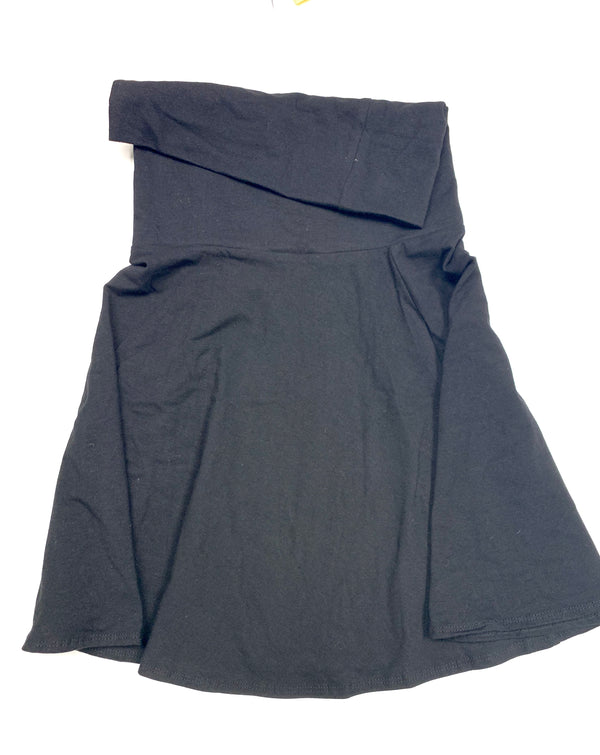 Roll Over Skirt-Fanilu