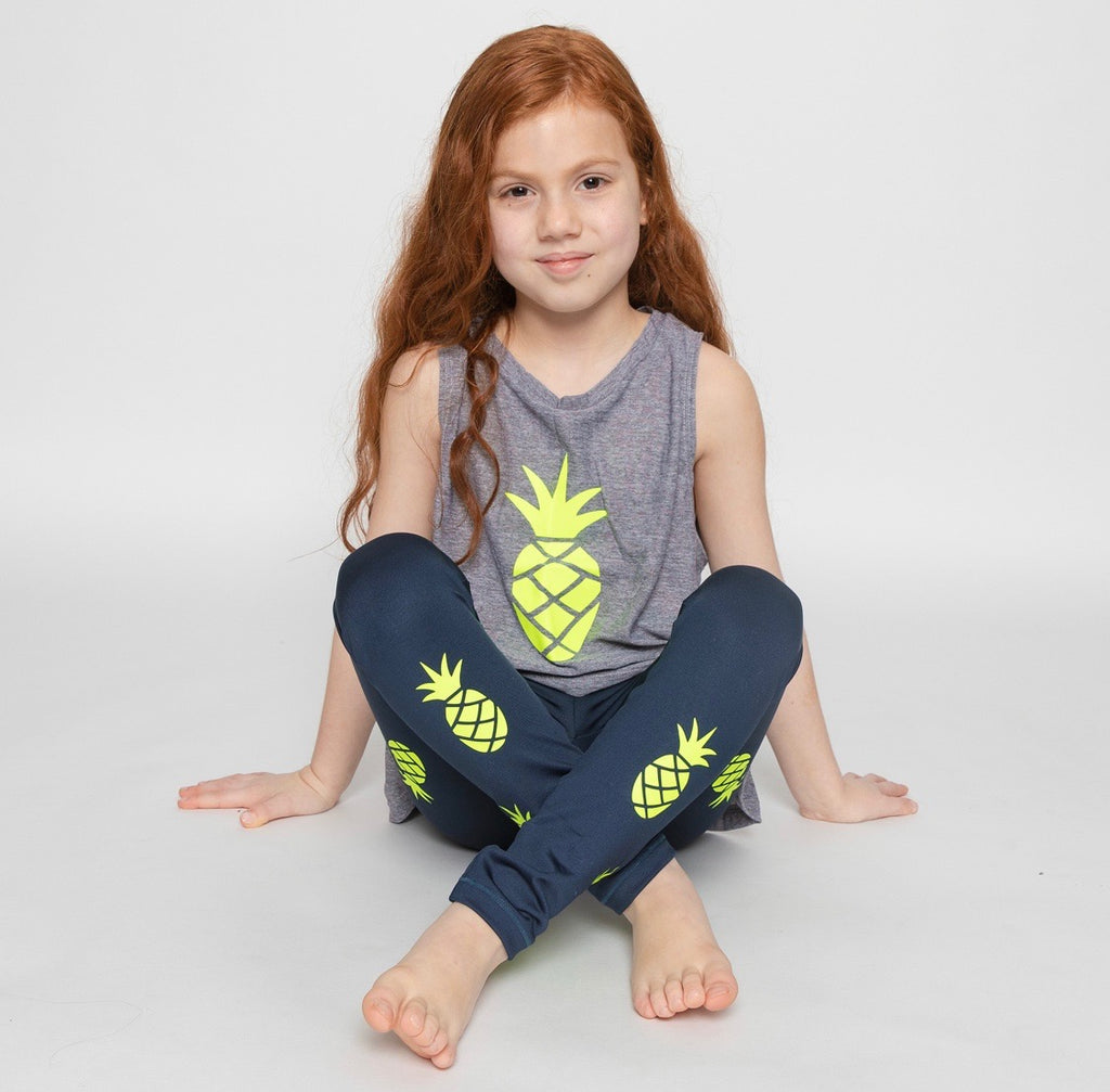 Pineapple Green Tank - Fanilu