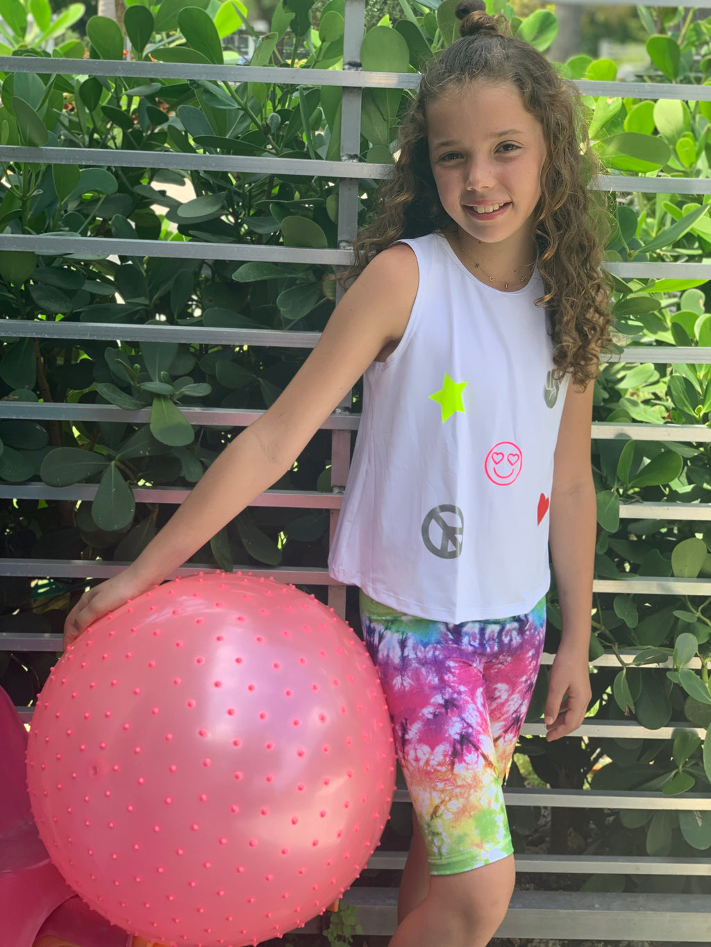 Tie Dye Short - Fanilu Activewear For Kids