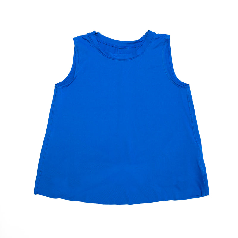 Wild Tank Royal Blue-Fanilu